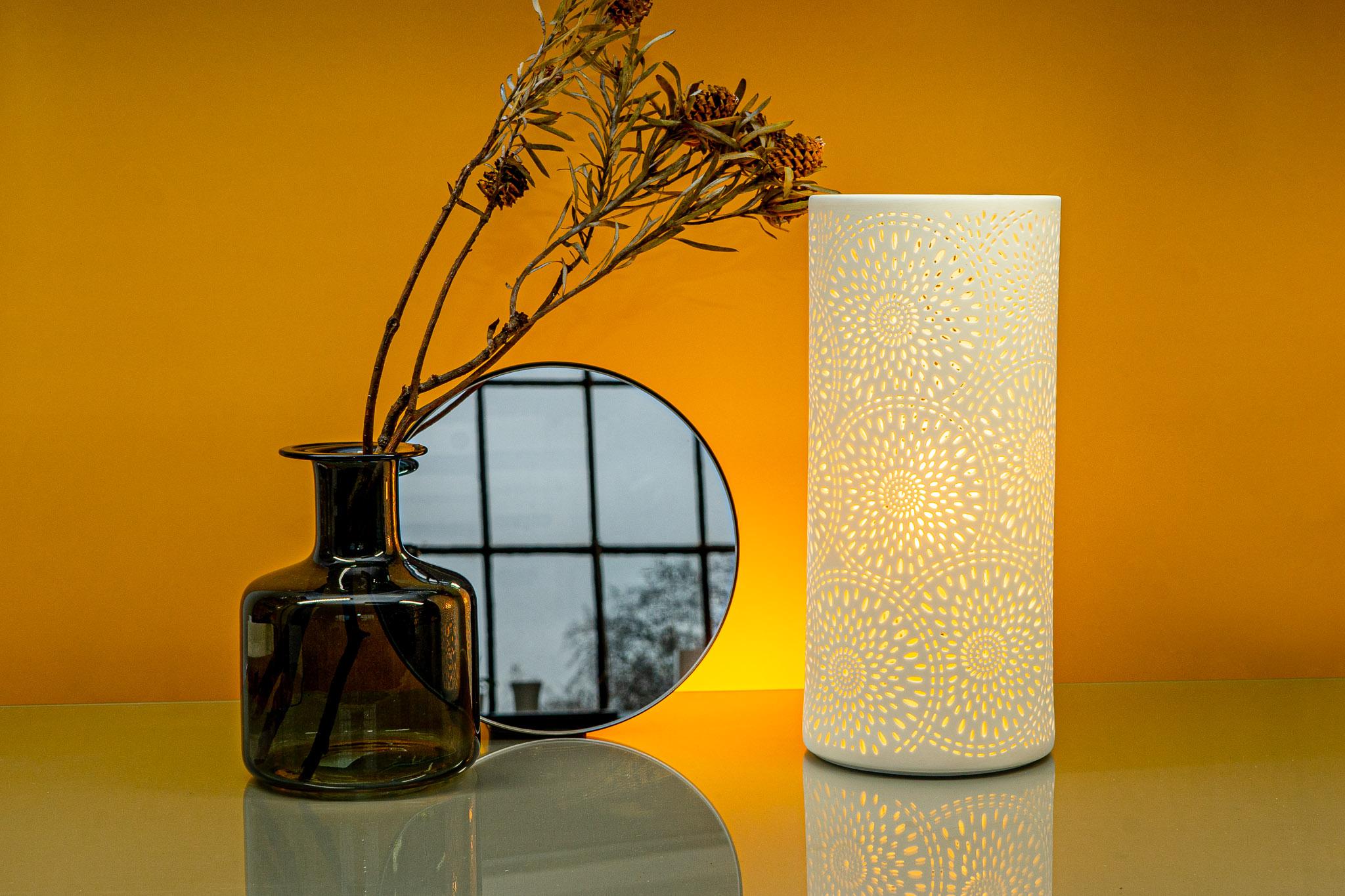 LP035 Ceramic Lamp - Firework columna